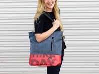 Repurposed Billboard Tote