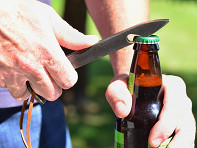 Muirwood Reclamations: Railroad Spike Bottle Opener