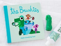 The Brushies: Puppet Toothbrush + Story Book