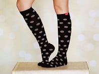 VIM & VIGR: Women's Cotton Compression Socks