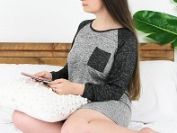 Hello Mello: Lounge Sleep Shirt
