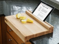 Brooklyn Butcher Blocks: Tablet-Holding Cutting Board