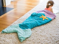 Twinklette: Kid's Ocean Tail Blanket