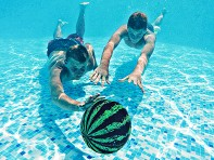 Watermelon Ball: Neutrally Buoyant Water Ball