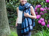 INK + ALLOY: Block Print Scarf