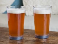 Mighty Mug: Tip-Proof Pint Glasses - Set of 2