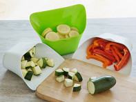 ChopTainer: Cutting Board Extension Bin