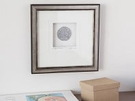 Cynthia Webb Designs: Silver Finish Framed Pewter Artwork