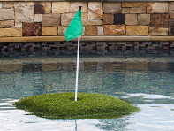 Floating Golf Greens: Floating Golf Turf Game