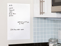 WriteyBoard: Reusable Stick-On Dry Erase Board