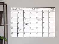 WriteyBoard: Reusable Foam Stick-On Planner