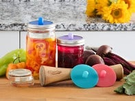 Masontops: Mason Jar Fermentation Kit