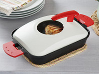 Uchicook: Stovetop Steam Grill - Metal Cover