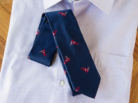Embroidered Silk Ties