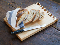 Words with Boards: Large Vertical Personalized Cutting Board