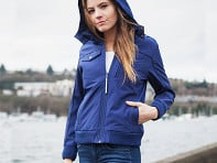 BauBax: Women's Travel Bomber Jacket