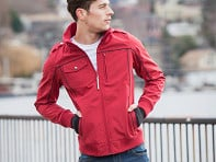 Men's Travel Bomber Jacket