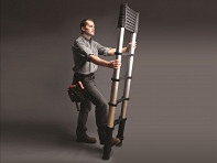 Xtend + Climb: Retractable Telescoping Ladders - Contractor Series