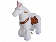 Small Unicorn Ride-On Toy