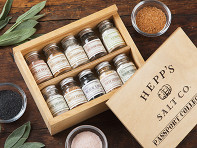 Hepp's Salt Co.: Specialty Salt Passport Collection