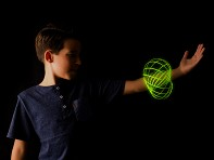 MOZI: Glow In The Dark Arm Spinner Toy