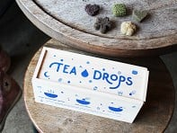 Tea Drops: Pressed Spiced Tea Leaves