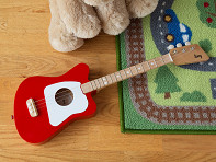 Loog Guitars: Kids' Three String Acoustic Guitar