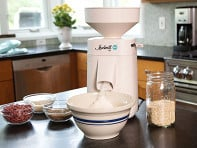 Wolfgang Mock: Electric Stone Grain Mill