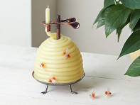 Candle by the Hour: Beehive Coil Candle