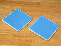 "The Duop: 360° Mop 6"" Glass Cleaning Pads"