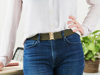 Unbelts: Low Profile Stretch Belt