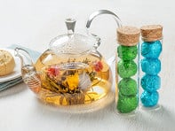 Flower Pot Tea Company: Blooming Tea Flowers & Teapot Set