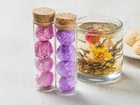 Flower Pot Tea Company: Blooming Tea Flowers - Set of Two
