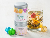 Flower Pot Tea Company: Blooming Tea Flowers Variety Tin