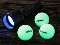 Lite4Nite: Rechargeable Illuminated Golf Balls