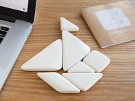 Pebbles: Bamboo Tangram Puzzle