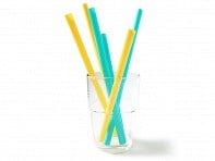 Silicone Reusable Straws - Set of 6