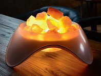 LIFE Home: Serenity Himalayan Salt Rock Lamp