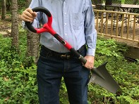 Radius Garden: Root Slayer Carbon Steel Shovel