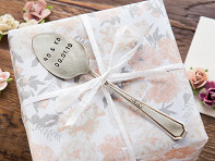 Monkeys Always Look: Personalized Vintage Silver Spoon Marker