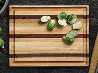 Dickinson Woodworking: Handcrafted Grooved Cutting Board