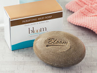 Bloom Mineral Beauty: Purifying Dead Sea Mud Soap