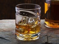 Helix Whiskey Glass: Spinning Whiskey & Spirits Glass