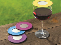 Drink Tops™: Ventilated Wine Drink Covers