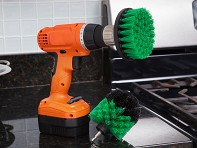 Drill Brush: Drill Scrub Brush Set