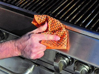 Proud Grill Company: Reusable Grill Cleaning Cloths - Set of 2