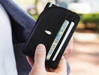Inscribe Self: Notebook Wallet with Pen