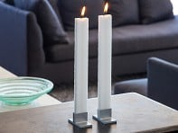 Flat Taper Candle Set