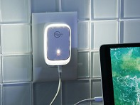 RevJams: USB Wall Charger Night Light