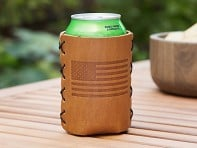 Leather Can Sleeve